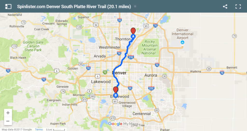 Best Denver Bike Trails 6 Maps To Help You Explore Denver By Bike