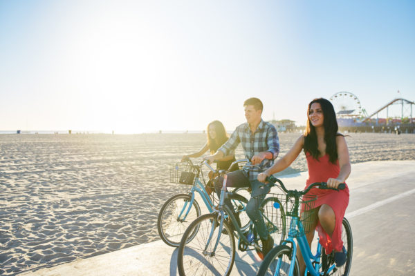 best santa monica bike routes